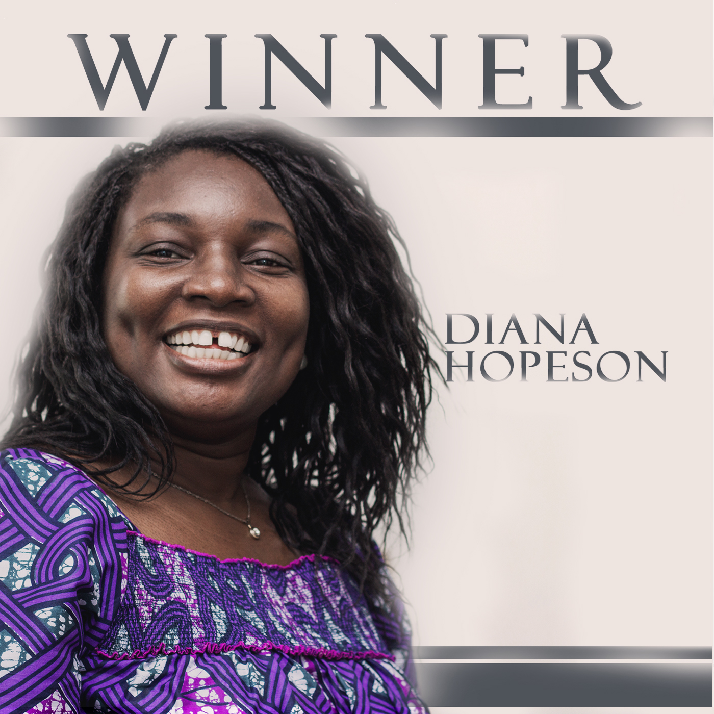 Diana Hopeson's hit Album, Winner